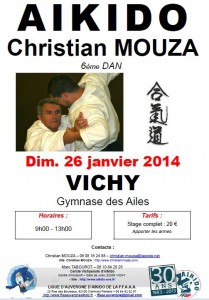 stage Christian Mouza Vichy
